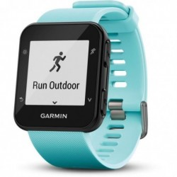 GARMIN Forerunner 35 Montre GPS Course à Pied Connectée avec Cardio Poignet Bleu glacé