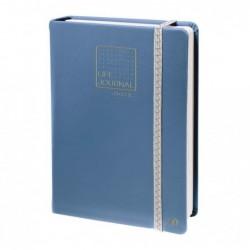 QUO VADIS CARNET 21 DOTS Life Journal 15 x 21 cm bleu gris