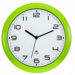 ALBA Horloge murale Hornew anis en ABS et verre - pile AA non fournie
