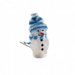 GOOBAY Bonhomme de neige USB décoratif Bleu
