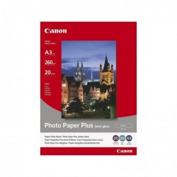 CANON Boîte de 20 feuilles papier photo semi gloss SG-201 A3 260g