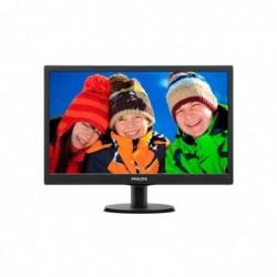 "PHILIPS Ecran PC LED 18.5"" 1366x768 16:9 5ms"