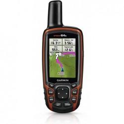 GARMIN GPSMAP 64s - GPS de randonnée - Système GPS & Glonass - Orange