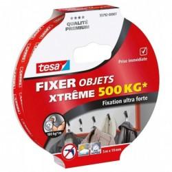 TESA Adhésif double face ultra fort 5mx19mm fixer intérieur / extérieur jusqu'à 500kg