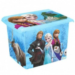 "OKT Boîte de rangement Fashion-Box ""reine des neiges"" 39 x 29 x 27 cm"