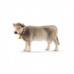 SCHLEICH Vie à la Ferme 13874 Vache Braunvieh