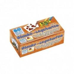 FOLIA Cartes memory uni, 60 x 60 mm, blanc
