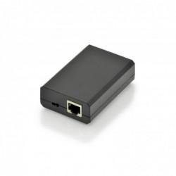 DIGITUS Gigabit PoE+ Splitter. 10/100/1000 Mbps. 24W