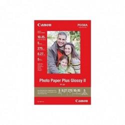 CANON Lot de 5 Feuilles PP-201 Glossy photo paper 10 x 15 cm 275g