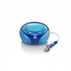 LENCO Radio Karaoke Enfant SCD-650 - Lecteur CD - USB - LED