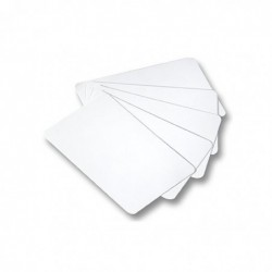FOLIA Jeu de cartes uni 65 x 100 mm 36 cartes blanc à Décorer