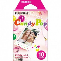 FUJIFILM instax Lot de 10 mini Film Candypop NEW