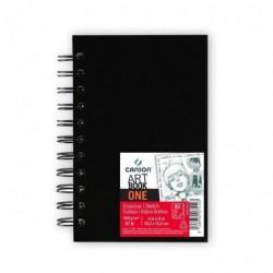 CANSON Carnet esquisse ARTBOOK ONE, A6, 80 feuilles, noir