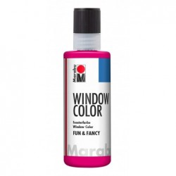 "MARABU Window Color ""fun & fancy"", 80 ml, framboise"