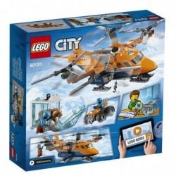 LEGO City 60193 Jeu de Construction L'hélicoptère arctique