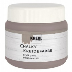 KREUL Peinture craie Chalky, Mild Mocca, 150 ml