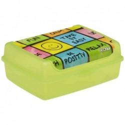 """KEEEPER Boîte à tartine """"carla happy"""", vert, 1,0 litre"""