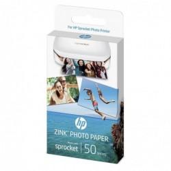 HP Papier photo à dos adhésif ZINK® 5 x 7.6 cm 50 feuilles