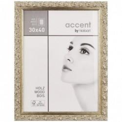 NIELSEN DESIGN Cadre Photo Arabesque 30x40 bois portrait Argent