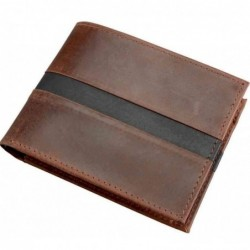 ALASSIO Porte-monnaie, cuir, marron foncé
