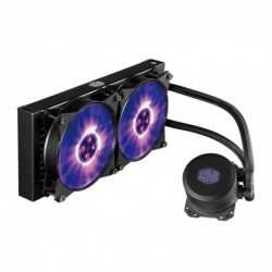 COOLER MASTER Radiateur de 240mm, All-In-One, LED RGB ML 240L RGB Liquide
