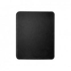LOGILINK Tapis de souris 22 x 18 cm design cuir, Noir (ID0150)