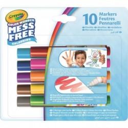 """CRAYOLA Etui de 10 mini feutres """"Color Wonder"""" pour Papier Color Wonder"""