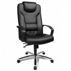 "TOPSTAR Fauteuil de direction ""Comfort Point 50"" Chrome/noir"