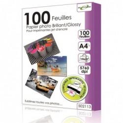 ELYPSE 100 feuilles papier photo A6 glossery 150gr