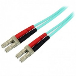 STARTECH.COM 1M OM4 FIBER OPTIC CABLE LC