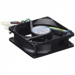 CHIEFTEC Ventilateur PC 8cm AF-825PWM roulement à billes MTBF 50.000Hrs air 2.8mm 3.6H2O vitesse 3.000rpm bruit 32-39 db 4 P...