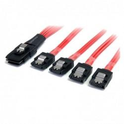 STARTECH.COM Câble Mini SAS SFF-8087 vers 4 SATA avec verrouillage 50 cm