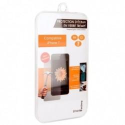 URBAN FACTORY Protection d'Ecran en Verre trempé pour iPhone 7