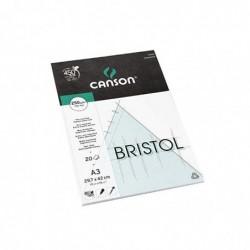 CANSON Bloc Bristol, A3,...