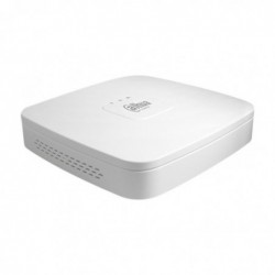 DAHUA Enregistreur vidéo sur réseau (NVR4104-P-4KS2 1U), Blanc