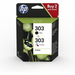 HP Pack 2 Cartouches Jet...