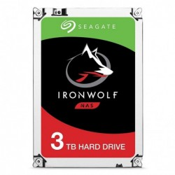 SEAGATE disque dur interne IRONWOLF 3TB NAS