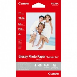 CANON Lot 50 Feuilles Papier Photo GP-501 10 x 15 cm 200g Brillant