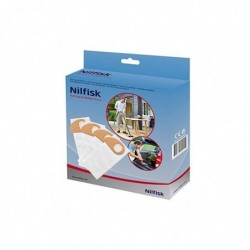 NILFISK Lot de 4 Sacs aspirateur pour Buddy II