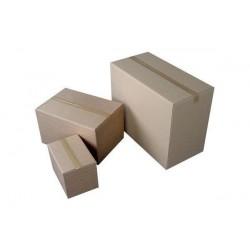 HAPPEL 10 x Caisse américaine en carton ondulé à déplier 287,