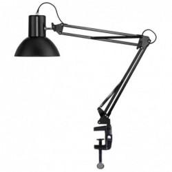 UNILUX Lampe de bureau LED SUCCESS 66 Pince et Socle sans Ampoule Noir