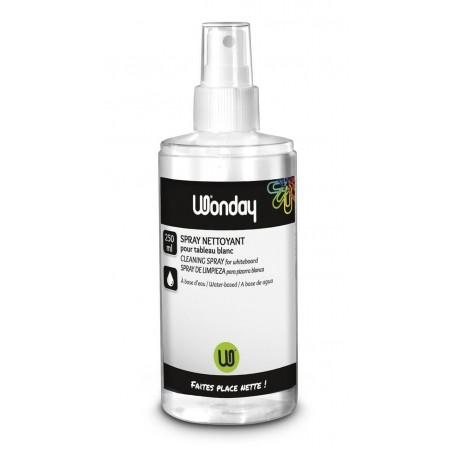 WONDAY Spray Nettoyant pour Tableau Blanc 250 ml