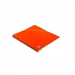 ELBA Chemise Eurofolio Alpina, dos de 1,5 cm, carte lustrée 5/10e orange