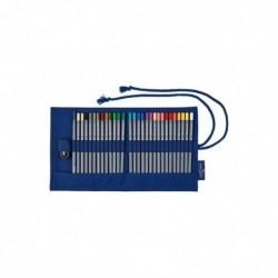 FABER-CASTELL Étui-rouleau pour crayons de couleur aquarellables Goldfaber