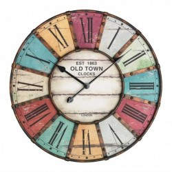 TFA-DOSTMANN TFA 60.3021 Vintage XXL Horloge murale nostalgie 60 cm