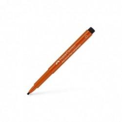 FABER-CASTELL Pitt Artist Pen calligraphie India Ink, orange sanguine