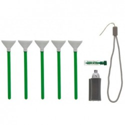 VISIBLE DUST kit de nettoyage pour capteur d'appareil photo numérique vert Vswabs 1.0x