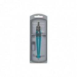 FABER-CASTELL Compas à réglage instantané Grip, turquoise