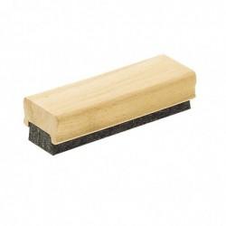 WONDAY Brosse en bois 4 feutres pour tableau Noir