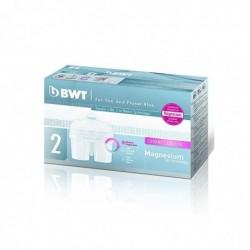 BWT Pack de 2 cartouche filtrante Longlife blanc